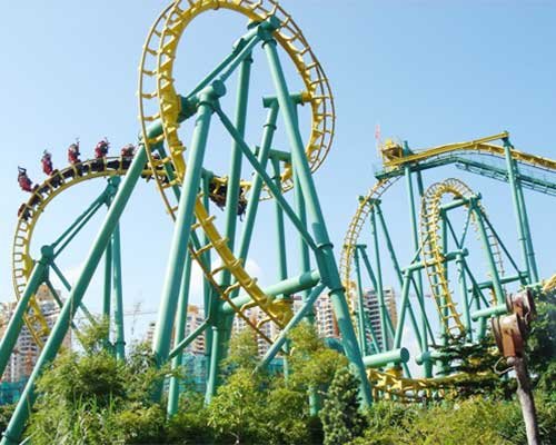 thrill roller coasters for sale