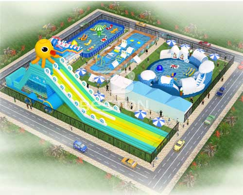 water park design cheap in Beston
