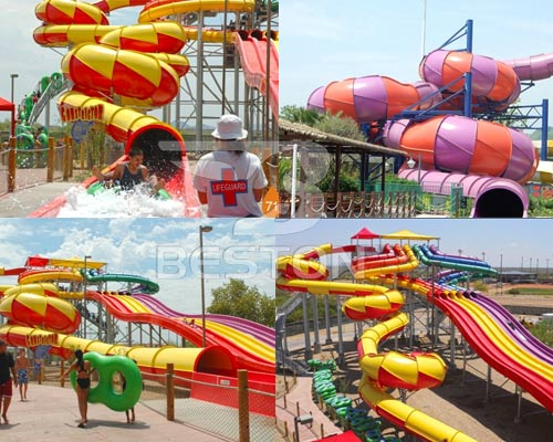 fiberglass water slides for sale